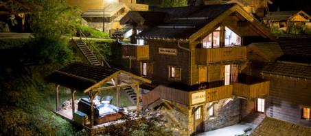 Luxury Chalet Johanna in La Tania, France