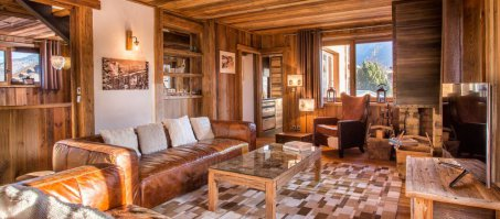 Luxury Chalet Le Loup Blanc in Courchevel Le Praz, France