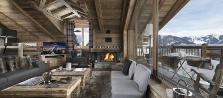 Luxury Chalet M in Courchevel 1550, France
