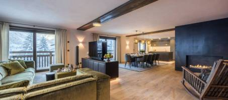 Luxury Chalet Nidus Apartment 3 in Lech, Austria
