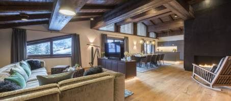 Luxury Chalet Nidus Penthouse in Lech, Austria