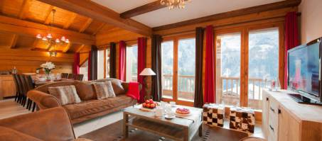Luxury Chalet The North Face in Sainte Foy, France