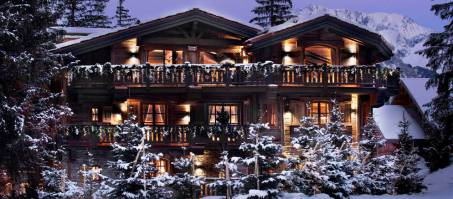 Luxury Chalet Le Petit Chateau in Courchevel 1850, France