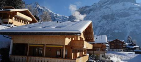 Luxury Chalet Rotstocki in Grindelwald, Switzerland
