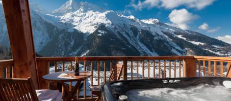 Luxury Chalet The South Face in Sainte Foy, France