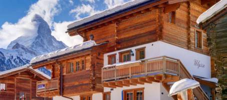 Luxury Chalet Ulysse in Zermatt, Switzerland